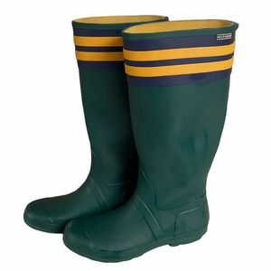 Tommy Hilfiger Tall Green Rubber Rain Boot